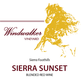 Sierra Sunset Label