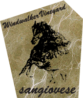 Sangiovese Label