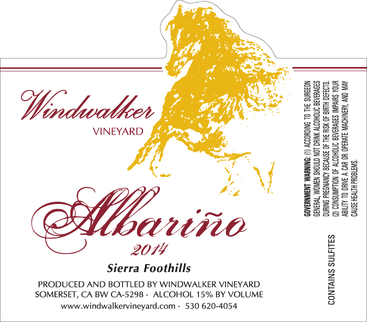 Albarino14 label