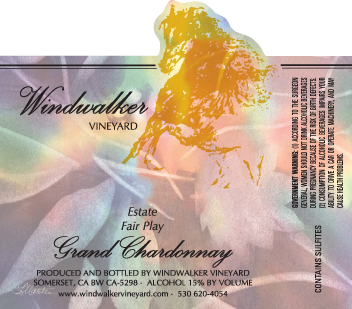 Grand Chardonnay Label