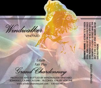Grand Chardonnay Label